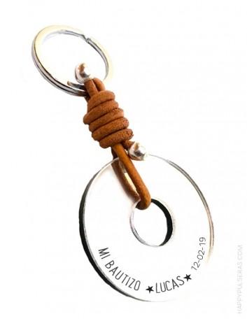 Llaveros personalizados para regalar en BAUTIZOS. Trabajamos con buenas calidades, buen precio.