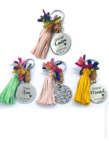 llaveros personalizados, regalos originales para regalar en cualquier evento.