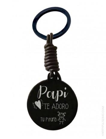 Llaveros online, llaveros grabados con foto. Bisutería artesanal- happypulseras.com