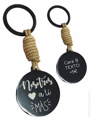 Llaveros únicos grabados a tu gusto en nuestra tienda online de regalos personalizados- Happypulseras.com