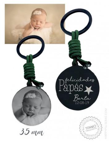 llaveros online, llaveros grabados en nuestra joyería personalizada Happypulseras.com. Foto llaveros super originales.