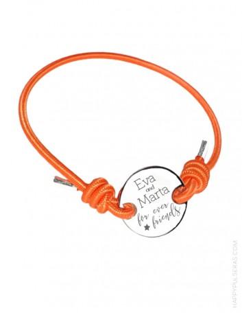 Pulsera de acero personalizada, te grabaos el mensaje que tu quieras- Ideas de regalos personalizados para Navidad