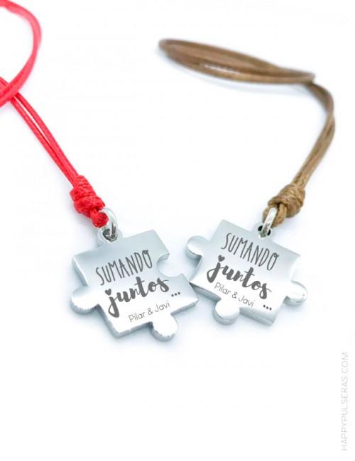Colgante personalizado nombre para parejas- Regalos enamorados