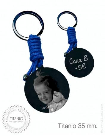 Llavero personalizado para mamá grabado con foto. Regalos originales personalizados en Happypulseras