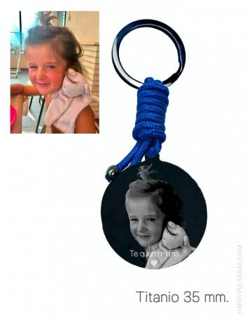 Foto llaveros grabados, regalos originales para regalar a mamá en Happypulseras