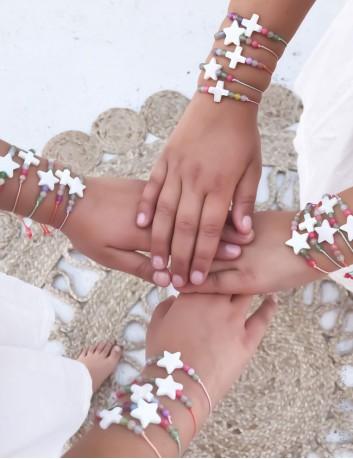 Pulsera sencillas para comuniones y cumpleaños en Happypulseras