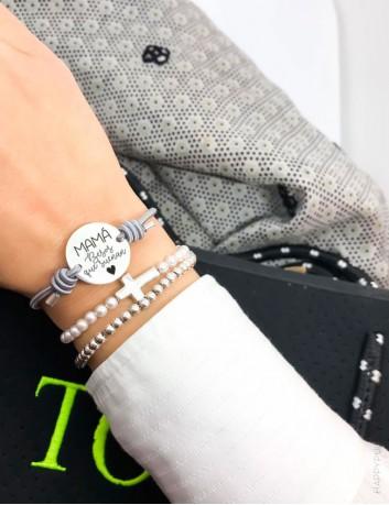 Pulsera personalizable- happy pulseras joyería online de regalos personalizados  en Happypulseras
