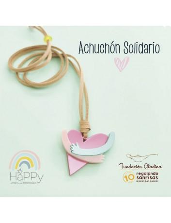 Collar solidario Happypulseras y Fundación Aladina. Beneficios 100% para el cancer infantil.