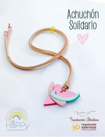 Collar solidario para ayudar a los niños con cáncer infantil de la Fundación Aladina. Vamos que lo conseguimos!!!