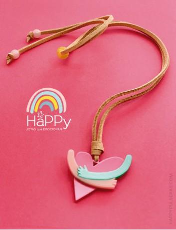 REGALA un achuchón solidario, con la compra de este colgante ayudamos a los niños con cáncer de la Fundación Aladina