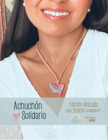 Todos los beneficios del achuchón serán destinados a la fundación Aladina para ayudar a los niños con cáncer. Happypulseras.