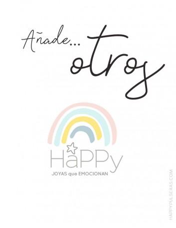 Añade otros para las joyas de Happy. Joyería online de regalos personalizados que emocionan.