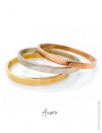 Descubre nuestros brazaletes de acero y aprovecha la oferta comprando 3 unidades- Happypulseras
