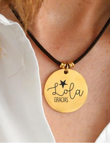 Personaliza tus medallas con el grabado que quieras... Qué te apetece llevar en tu medalla personalizada??