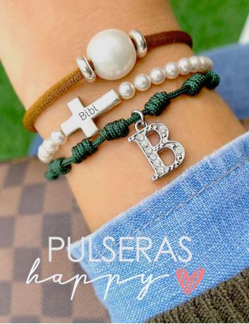 Pack de 3 pulseras coordinadas HAPPY - Ahora si compras estas pulseras, descuento directo! Happypulseras