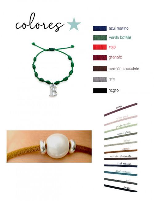 Elige los colores para tus pulseras de verano Happy. Super oferta en pulseras!