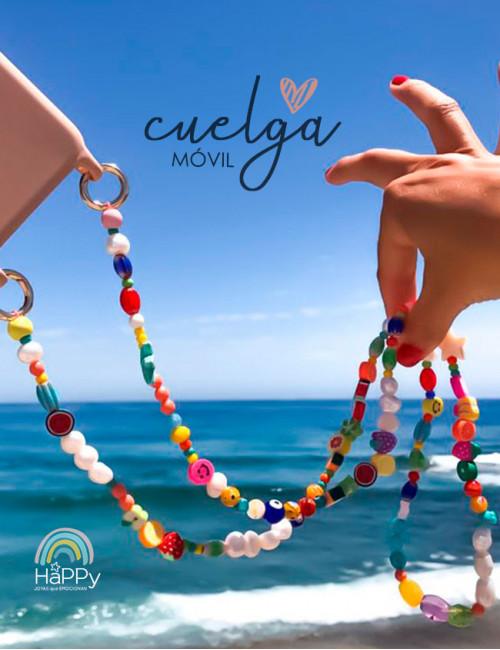Cuelga móvil collar de colores para Verano - Novedades HAPPY