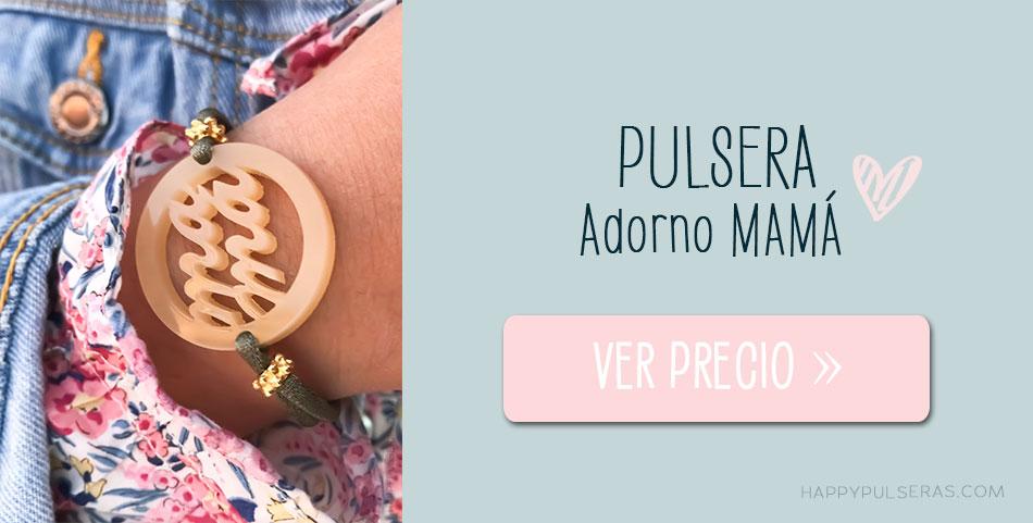 Pulsera MAMÁ top ventas en Happypulseras.com