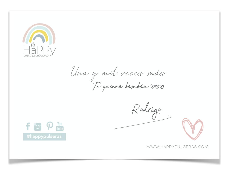 Happy tarjetas gratis con tu pedido
