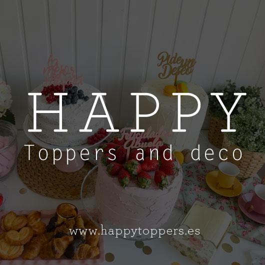 Cake Toppers personalizados y letreros personalizados